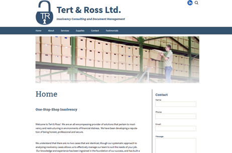 Tert and Ross Ltd